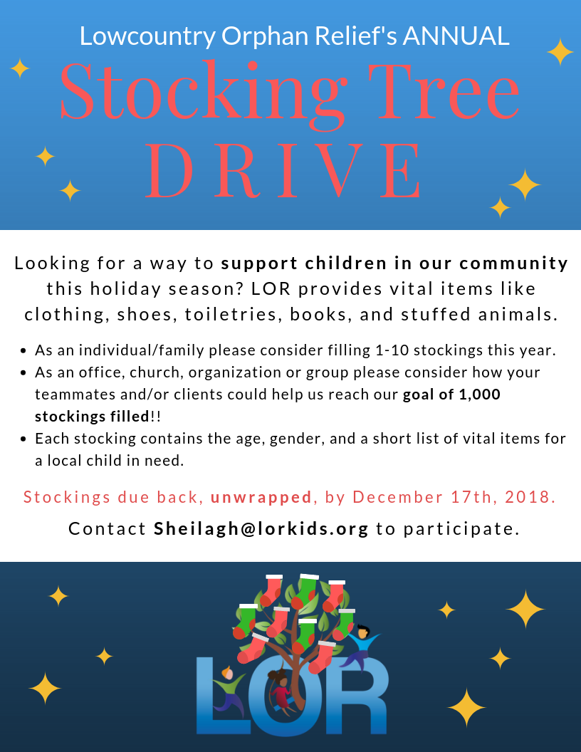 2018 Stocking Tree Drive Flyer Final
