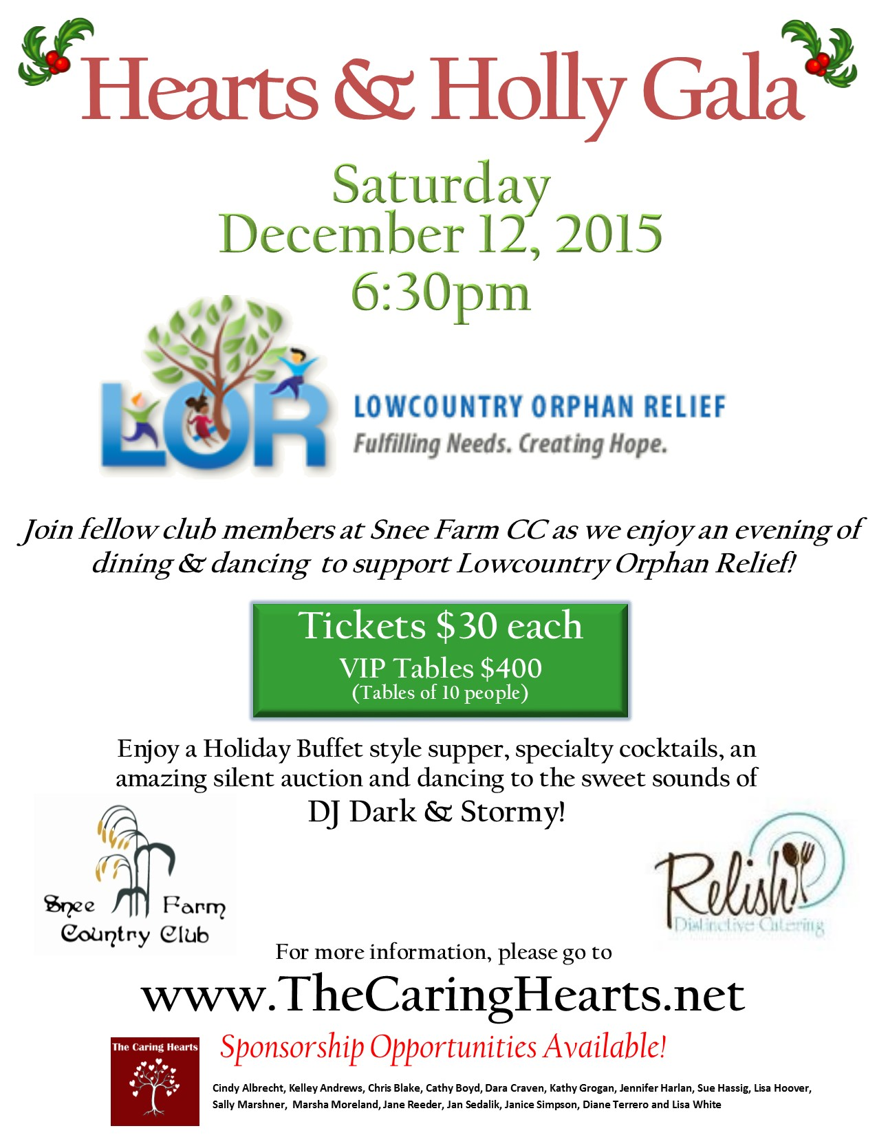 Hearts & Holly Flyer 2015