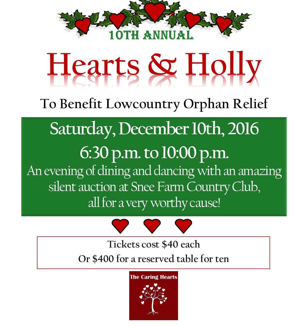 10th Annual Hearts & Holly