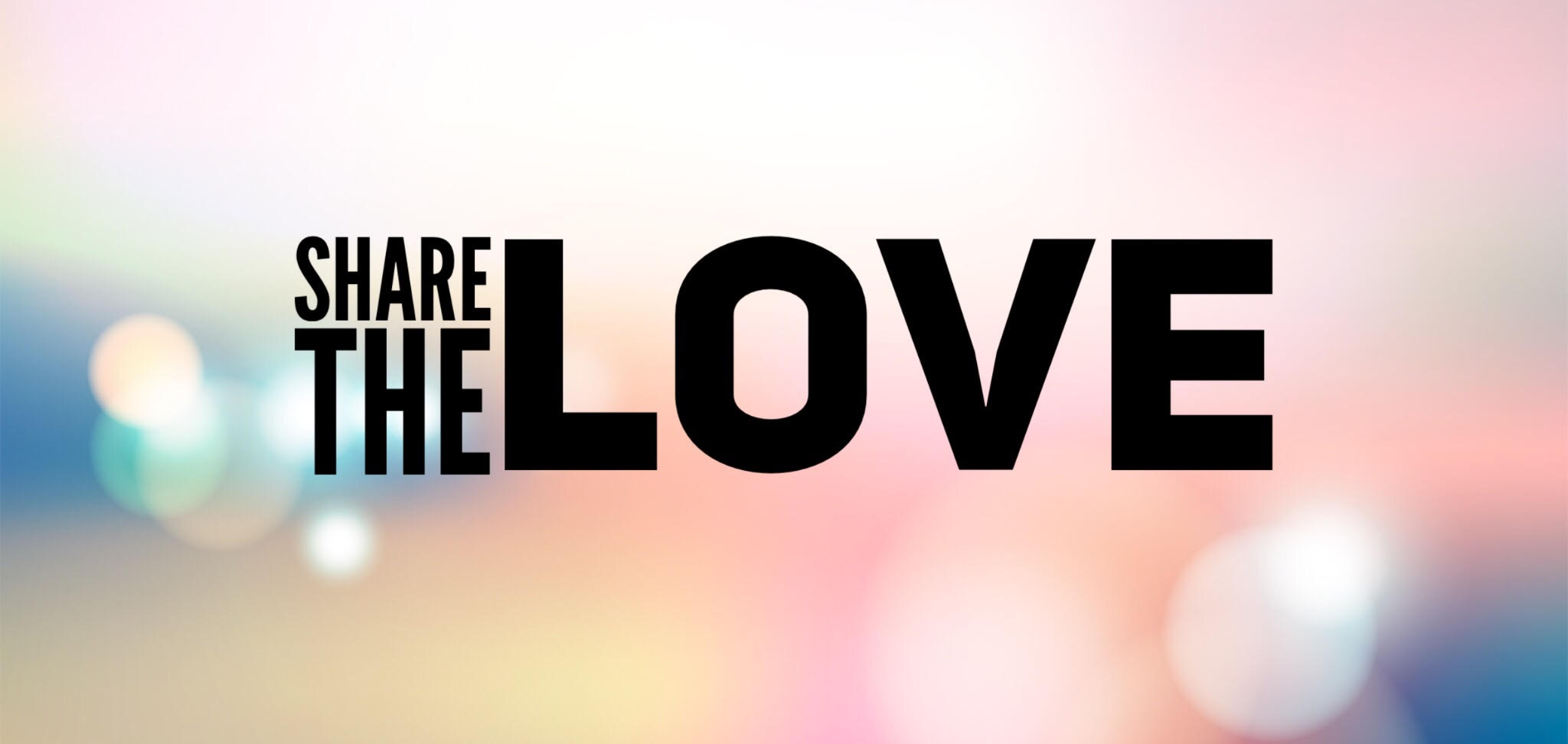 Share the Love Banner